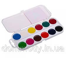 Краски акварельные 12 цветов