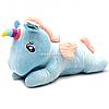 Мягкая игрушка «Пони-единорог», голубой, мех искусственный, 60х25х20 см (BL0917)