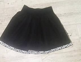 Школьная юбка для девочки Love р. 122-134 опт