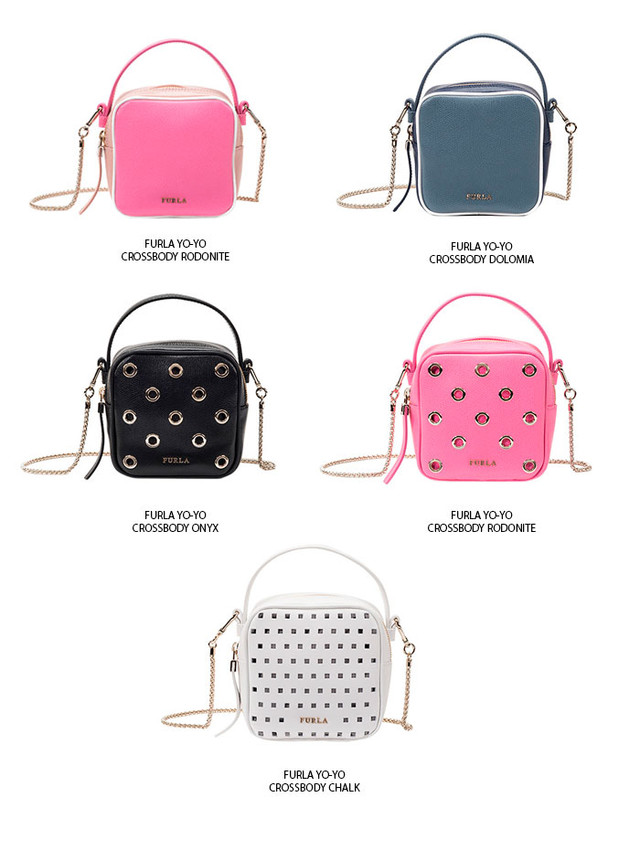 Furla Yo Yo Crossbody Bag Collection SS2016