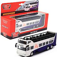 Машинка игровая «TechnoPark» Автобус Львов, 15х6х4 см (SB-16-21-LV)
