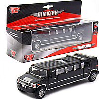 Машинка игровая «TechnoPark» лимузин черный металл 17х4х5 см (SL-971WN)