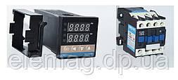 REX-C100 RELAY Термостат з контактором 18 ампер CJX2-1810 1NO 220V