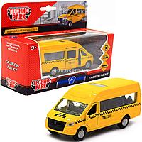 Машинка игровая «TechnoPark» такси металл 12х4х6 см (SB-18-19-T-WB)