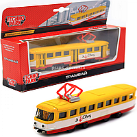 Машинка игровая «TechnoPark» трамвай Одесса, 16х6х3 см (SB-16-66WB-U)