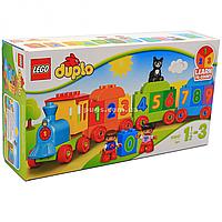 Конструктор LEGO DUPLO «Поезд Считай и играй», 23 детали (10847)