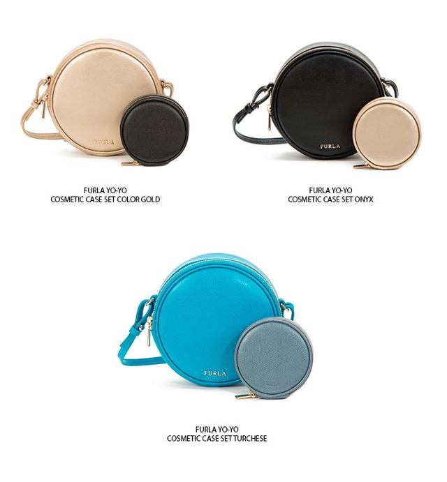 Furla Yo Yo Cosmetic Bag Collection SS2016