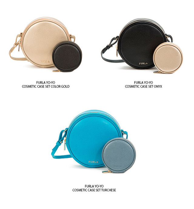 Furla Yo Yo Cosmetic Bag Collection SS2016