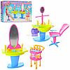 Детская игрушечная мебель Глория Gloria для кукол Барби Парикмахерский салон 2919. Обустройте кукольный домик