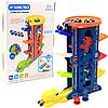 Игровой набор паркинг-трек Веселый трамплин Аллигатор, 6 уровней, 4 машинки (6846)