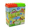 Конструктор «Мои первые кубики» Wader Baby Blocks, 30 деталей от 1 года 24*19*10 см (41440)