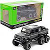Детская машинка игровая Автопром «Mercedes-Benz G63» Мерседес-Бенц черный со световыми и звуковыми эффектами,