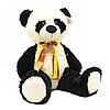 М'яка іграшка плюшева Панда «Ведмедик 021» Копиця, хутро штучний, 65*40*30 см, (21034-7)