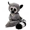 М'яка іграшка плюшевий Лемур «Лімпопо» Копиця, хутро штучне, сірий, 45*16*12 см, (00237-2)
