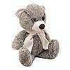 М'яка іграшка плюшевий Ведмедик «Амур 1» Копиця, хутро штучне, сірий, 44*20*12 см, (00707-31)