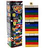 Настольная игра башня Vega (Вега) по цветам. Версия игры Дженга (Jenga) GVC-01U