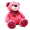 М'яка іграшка плюшевий Ведмедик «Ведмедик 010» Копиця, хутро штучне, рожевий, 65*40*30 см, (21033-4)