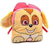 Мягкая игрушка подушка сплюшка Kinder Toys «Щенячий патруль» Скай, 29х29х10 (00280-72)