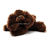 Мягкая игрушка собачка «Кузя» Копыця, коричневый, лает, 23*23*10 см, (25328)
