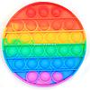 Розвиваюча сенсорна іграшка антистрес Pop it (Поп іт) (райдужний коло)