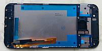 HTC One M9 дисплей в зборі з тачскріном модуль з рамкою чорний