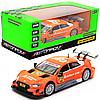 Машинка іграшкова Автопром «Audi RS 5 DTM» метал, 15х6х4 см, помаранчевий, світло, звук, двері відчиняються (68448)