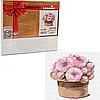 Картина за номерами Ідейка «Чарівний букет петунії» 30x30 см (КНО2350)