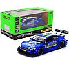 Машинка іграшкова Автопром «Mercedes-AMG C 63 DTM», 14 см, світло, звук, двері відчиняються, синій (68447)