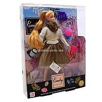 Кукла Emily «Осенняя романтика: Мечтательница», аксессуары, 30 см, (QJ070)