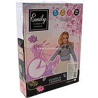Кукла Emily «Осенняя романтика: Мечтательница», аксессуары, 30 см, (QJ070B)
