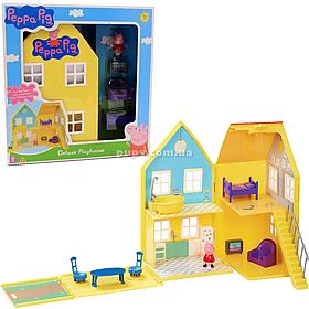 Дитячий ігровий набір Kiddisvit Peppa «Будинок Свинка Пеппа Делюкс» (06865)