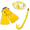Набір для плавання INTEX «Майстер Клас» ласти, маска і трубка від 8 років (55655)