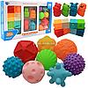 Набор игрушек для купания «Сенсорики» Limo Toy, 20 фигурок, от 6 мес, (HB 0011)