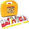 Набор инструментов для детей Tools set «Технок», 13 деталей в чемодане (5880)