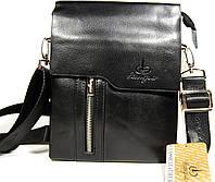 Небольшая мужская сумка L 6755-1 со съемной ручкой 22*17см      КС23