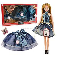 Набор кукла Emily «Восходящая звезда» и юбка для девочки р. 40-76 см, 30 см, (QJ095A)
