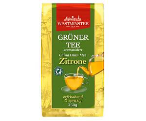 Зеленый чай Westminster Gruner Tee China Chun Mee Zitrone 250 г
