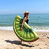 Матрас надувной Intex Киви (Kiwi Slice) арт.58764. Отлично подходит для отдыха на море, в бассейне