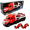 Машинка игрушечная «Автовоз» Wader Magic Truck Формула 1 красная 78*27*18 см (36240)