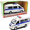 Машинка іграшкова Автопром «Поліція» (світло, звук, пластик), 20х7х10 см (7661-4)