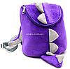Рюкзак детский для ребенка Копиця Динозавр Дино, сиреневый 25х20х10 см (00200-33)