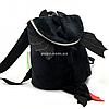 Дитячий Рюкзак для дитини Копиця Дракоша Лаккі, чорний 25х20х10 см (00200-34)
