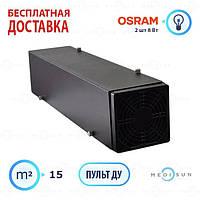 Облучатель бактерицидный рециркулятор воздуха закрытого типа для офиса и дома Аэрэкс MEDNOVA Мини 16 чейрный