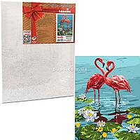 Картина по номерам Идейка «Пара Фламинго» 50x40 см (КНО4144), фото 1