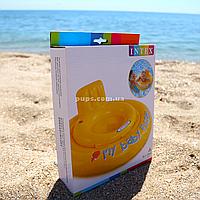 Надувной плавательный круг (плотик) Intex (интекс) для детей(56585)