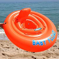 Надувной плавательный круг (плотик) Intex (интекс) для детей(56588)