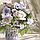 Картина за номерами Ідейка «Польовий букет» 40x40 см (КНО3087), фото 4