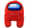 Мягкая игрушка «Космонавт Among Us» Амонг Ас, красный, 15х12х23 см (00006-02)