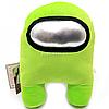 Мягкая игрушка «Космонавт Among Us» Амонг Ас, Салатовый, 15х20х25 см (00006-04)