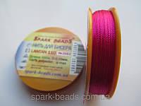 Нить для вышивки бисером Лантан 110-2083. Цвет лиловый